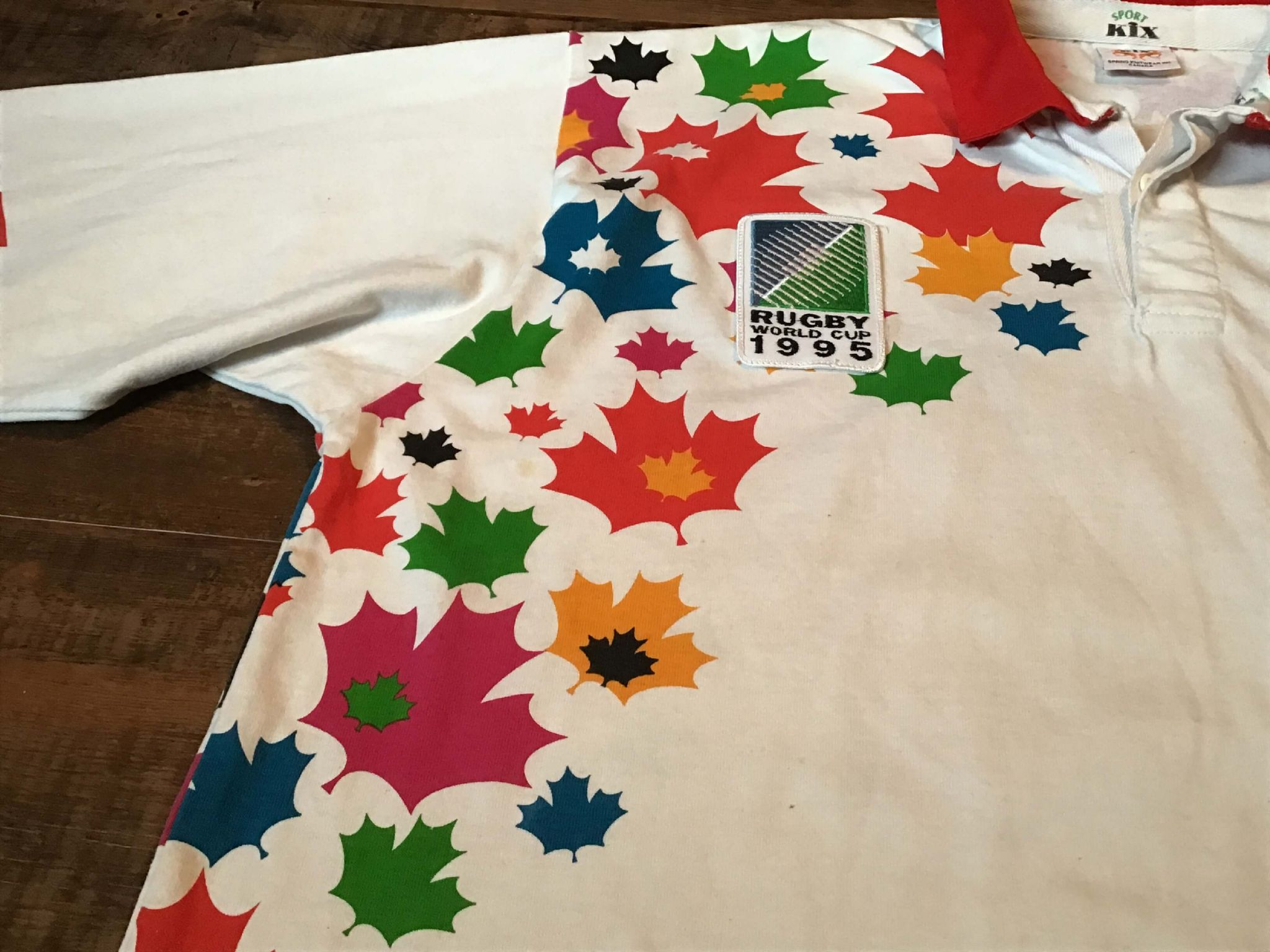 e85484f692c Classic Rugby Shirts | 1995 Canada Old Vintage Jerseys